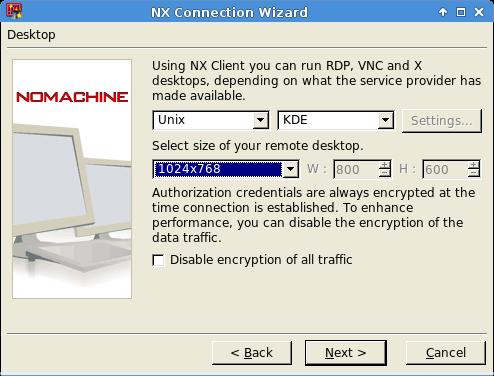 NoMachine Client v3 Configuration — Neuro Cluster Resources